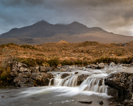 Mountain stream, Isle of Skye